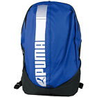 NEW PUMA Pioneer Backpack Unisex Blue Black Ruck Sack rrp £19.99 now on sale