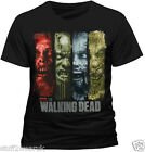 Official The Walking Dead Walker Strips T Shirt Black S M L XL XXL NEW