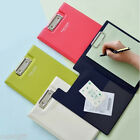 A5 Clip Board School Office File Paper Clipboard Folder Storage Document Holder