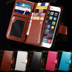 New Magnetic Flip Leather Pouch Wallet Case Cover  For iPhone 6 4.7 Plus 5.5