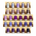 Hemingworth Machine Embroidery Thread- Shades of Purple all on this page
