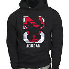 Chicago bulls Michael Air Legend 23 Jordan Mens Black Hoodie on eBay