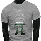 Star Wars We have Funny Come to the Math Side Pi Mens Gray T-Shirt