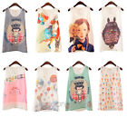 New Casual Women Girl Summer Loose Chiffon Sleeveless Vest T Shirt Tops Blouse