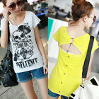 SEXY TREND GIRL SKULL COLOR STYLE 2465 STYLE SLEEVES SHIRT TOP