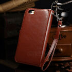 New Luxury Leather Detachable Wallet Flip Case For Apple iPhone Models
