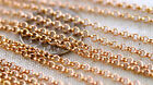 Brass Chains Round Link Rolo Chains 2mm c188