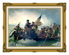 Washington Crossing the Delaware by Emanuel Leutze Art Repro Canvas Giclee Print