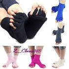 Sports Yoga GYM Soft Massage Five Toe Separator Socks Fitted Foot Alignment Z