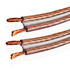 Van Damme Twin 2 x 4.00 mm Hi-Fi speaker Twin Interconnect Cable - Unterminated