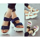Fashion Velcro Thick Sole Sandals Casual Summer Splice Sport Synthetic Shoes