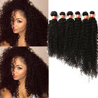 "Cheap 3Bundles 10""-30"" Human Hair Extensions Curly Wave Black Hair Wefts 50g/pcs"