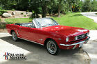Ford : Mustang 2 Door Convertible 1964 1 2 ford mustang convertible red 302 4 speed dlx pony rally pac v 8
