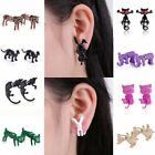 1 pair  Cute Women's Jewelry silly colorful shape Earrings Stud special gifts