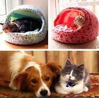 Warm Soft Comfy Pet Dog Puppy Cat Teddy Bed Slippers Kennel Mat House 2 colors Z