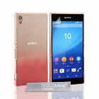 Yousave Accessories Sony Xperia Z3+ Plus Clear Rain Drop Hard Phone Case Cover