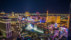 Las Vegas Strip USA Skyline City Canvas Pictures Cityscape Wall Artwork Prints