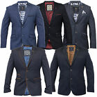 Mens Blazer Cavani Formal Coat Smart Dinner Suit Jacket Lined Designer Party