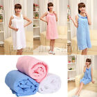 125cm/154cm Microfiber Towels Wearable Magic Bath Bathrobes Bath Skirt Dress