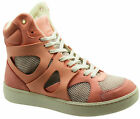 Puma MCQ Alexander McQueen Move Mid Womens Rose Trainers (357165 03 WH Box)