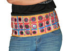 Belly Dance Attire - Vintage Large Mirror Indian Tribal Cotton Belt