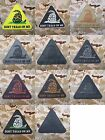 DONT TREAD ON ME 3D PVC Patch Triangle