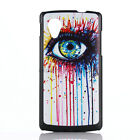 Luxury Paintted Classic Embossed Thin Hard Back Cover Case For Google Nexus 5