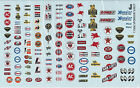 GOFER RACING SPONSOR SET 1 WATER SLIDE DECALS FOR 1:24 AND 1:25 SCALE MODEL CARS