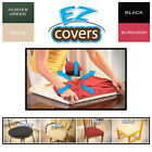 4 EZ Covers Fabric Chair Upholstery Seat Cushion Protector Dining Room Kitchen