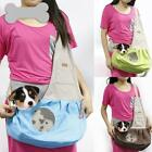 Canvas Pet Dog Cat Carrier Bag Single Shoulder Bag Sling Tote Outdoor Backpack