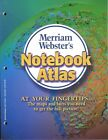 NEW Merriam-Webster's Notebook Atlas by Paperback Book (English) Free Shipping