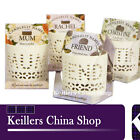 H & H CANDLELIT NAMES PERSONALISED T LIGHTS TEALIGHTS CANDLEHOLDER L-P NEW