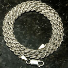 060 3mm ROPE CHAIN Made in Italy  SOLID .925 STERLING SILVER CHAIN 20""