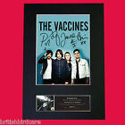 THE VACCINES Signed Autograph Mounted Photo Reproduction PRINT A4