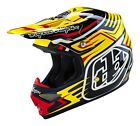 Troy Lee Designs 2016 Air Helmet Scratch Yellow Adult Size XS-2XL