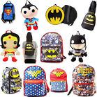 DC Comics: Backpack / Rucksack - New + Official With Tags Batman/Wonder Woman