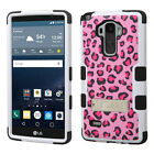 FOR LG PHONE MODEL G STYLO SHOCK PROOF TUFF RUGGED ARMOR STAND CASE COVER+STYLUS