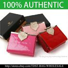 [OMNIA] Crystal Ladies Wallet Genuine Leather Trifold Purse ID Card  KR369S