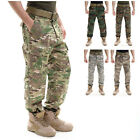 Men Camouflage Tactical Combat Pants Military Army Cargo Fatigue Trousers