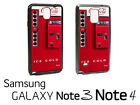 Coca Cola Vending Machine Samsung Galaxy Note 3/ 4 Phone RUBBER Edge Case cl3 $12.07  on eBay