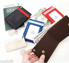 Line Point Neck Card Pocket Holder Strap Case Money Coin Wallet Purse Key Ring
