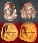 NEW RUBBER LATEX MOULD MOLD MOULDS RELIGIOUS VIRGIN MARY OR JESUS WALL PLAQUE