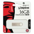 Kingston 8GB 16GB 32GB 64GB DataTraveler SE9 USB 2.0 Pen Drive lot DTSE9H