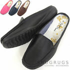 Ladies / Womens Leather Slip On / Mules / Loafers / Summer / Holiday Shoes