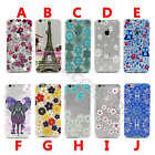 Patterned Gem Soft Case 0.3MM TPU Silicone Gel Shockproof Cover For Cellphones