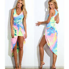 Sexy Women Summer Casual Sleeveless Party Evening Cocktail Maxi Dress LA CA A