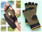 COPPER COMPRESSION GLOVES GUANTES WOMEN'S OR MEN'S HELP REDUCE STRESS FATIGUE