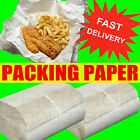 "White Packing Paper Chip Shop Paper Newspaper Offcuts Large 20 x 30"" Sheets"