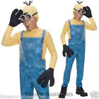 CK428 Despicable Me Boys Minion Kevin Party Fancy Dress Costume Kids Book Week