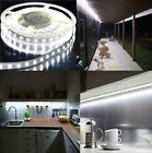 Cool White 12V High Power SMD5050 Flexible Flat LED Strip Rope Light Cut/Adapter
